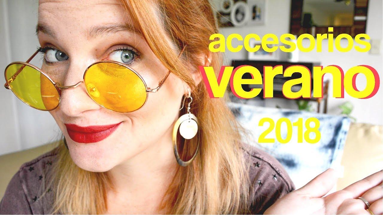 Los accesorios que necesitás este verano 2018